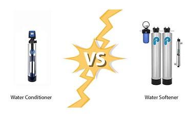 water-conditionaer-vs-Softener