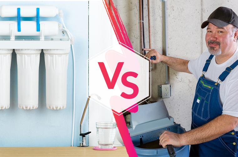 Reverse Osmosis VS Water Softener : Do You Need Both?