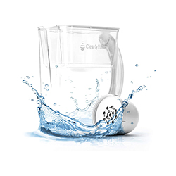 Clearly Filtered Lead Water Filter Pitcher