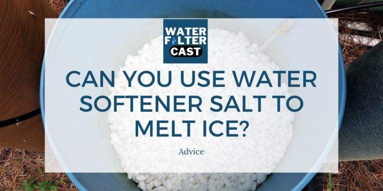 Can You Use Water Softener Salt to Melt Ice?